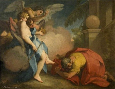 Antonio Balestra - Abraham Visited by the Three Angels