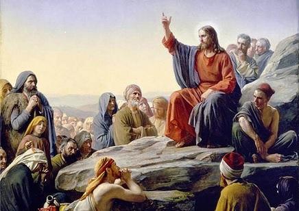Sermon on the Mount, Carl Heinrich Bloch 1876