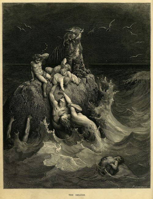 Deluge by Gustave Doré