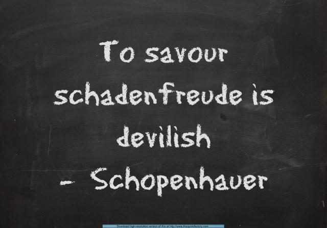 schadenfreude quote