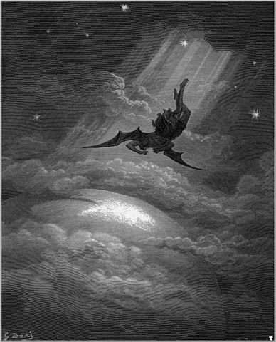 Fall of Satan by Dore