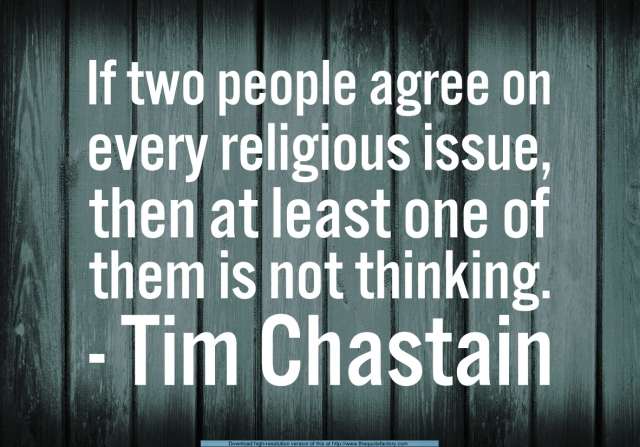 Quote - If two people agree