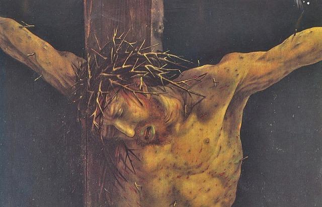 Crucifixion by Grünewald Matthias