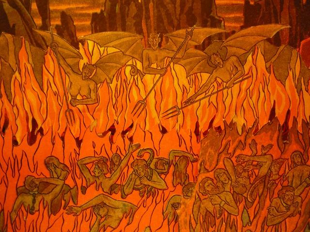 Hell via Benjamin L. Corey
