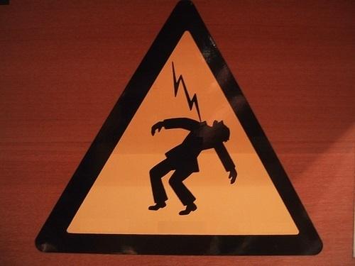 Caution - Angry God