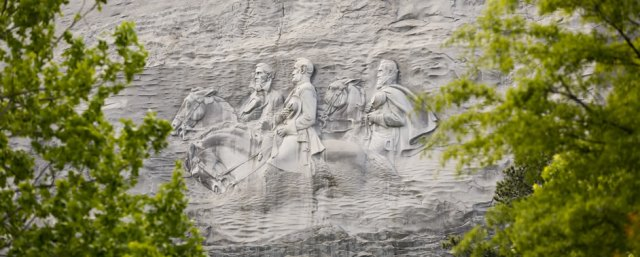 Stone Mountain monument