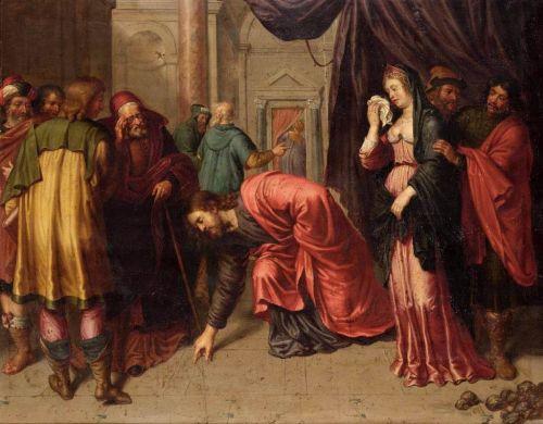 Cristo y la mujer adultera
