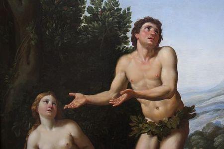 Adam and Eve by Zampieri