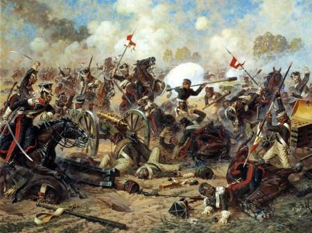 Battle of Borodino Aleksandr-averyanov-the-podvig-of-general Kostenetsky-undated