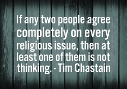 Quote - If two people agree on everything