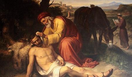 The Good Samaritan, William Etty 1838