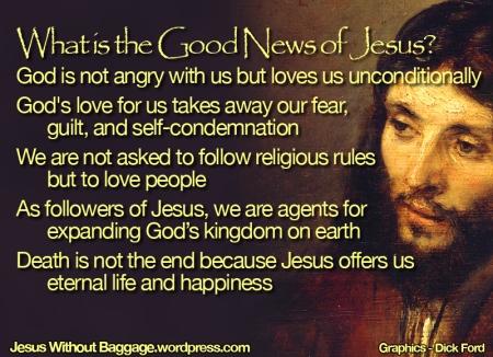 The good news of Jesus