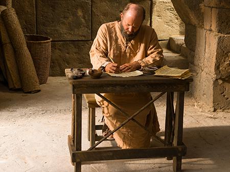 Paul writes a letter
